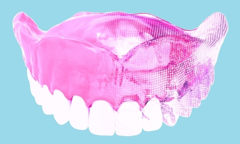 DENTCA's 3-Dimensional Denture (Photo: Business Wire)