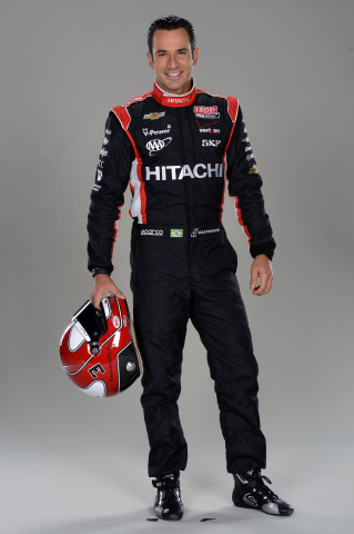 Helio Castroneves (Photo credit: Autostock)