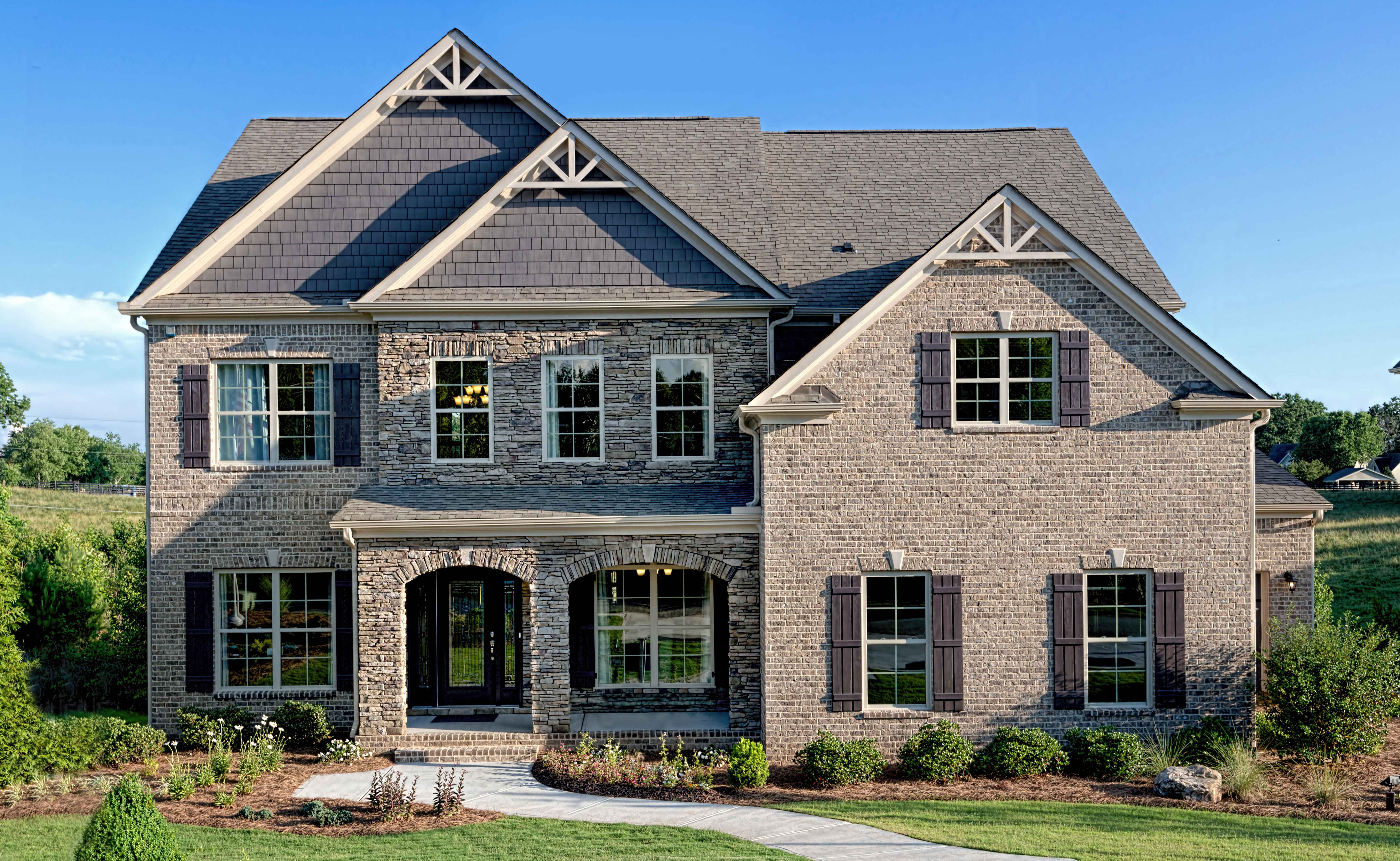 Ryland homes announces the grand opening of the wilmington for Model home pics