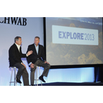 Schwab's Walt Bettinger, President and CEO and Bernie Clark, EVP, Advisor Services at EXPLORE 2013 conference (Photo: Business Wire)