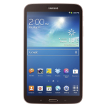 Galaxy Tab 3 8.0 Gold Brown (Photo: Business Wire)