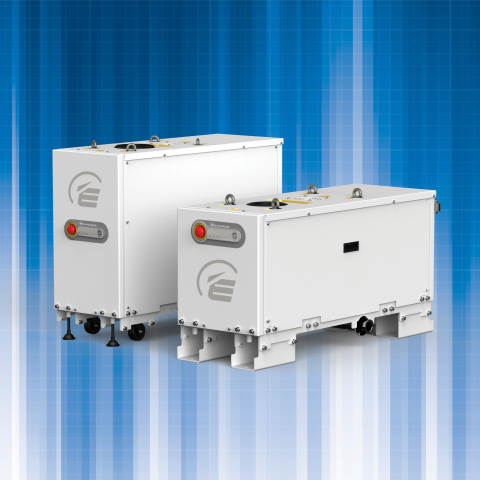 Edwards' GXS Dry Screw Vacuum Pumps (Graphic: Business Wire)