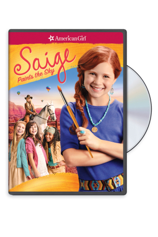 An American Girl: Saige Paints the Sky DVD (Photo: Business Wire)