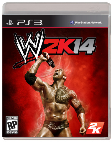 """2K today unveiled the WWE(R) 2K14 cover art featuring WWE Superstar Dwayne """"The Rock(R)"""" Johnson. (Photo: Business Wire)"""