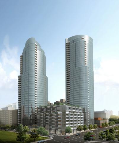 The Bernardo Fort-Brescia | Arquitectonica-designed LUMINA is a community of 655 luxury condominium  ...