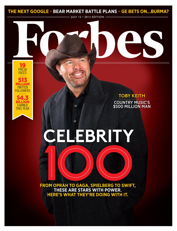 2018 Celebrity 100 - Forbes India Magazine
