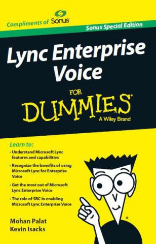 Lync Enterprise Voice for Dummies (Graphic: Business Wire)