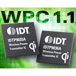 IDT Announces Industry's Most Integrated WPC 1.1 Qi-Certified Wireless Power Transmitters for Wireless Charging Applications (Graphic: Business Wire)