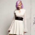 The Mortal Instruments Isabelle Ivory Dress designed by TRIPP nyc exclusively for Hot Topic. (Photo: Business Wire)