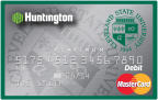 Huntington Bank Cleveland State University Vikings Debit Card (Photo: Business Wire)
