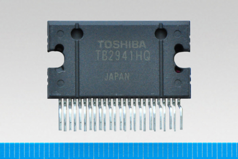 "Toshiba 4 channel power amplifier IC for car audio, ""TB2941HQ"" (Photo: Business Wire)"