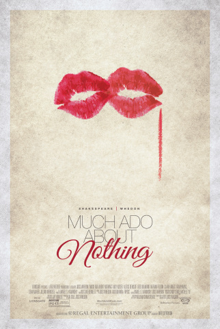 "Regal Entertainment Group announces Matt Stevenson of Washington, D.C., wins the Regal Fan Art competition for a movie poster to promote ""Much Ado About Nothing."" Source: Regal Entertainment Group"