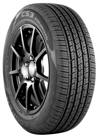 Cooper's new CS3 Touring tire features new StabilEdge(TM) technology, all-season performance, increased fuel-efficiency and premium features. (Photo: Business Wire)