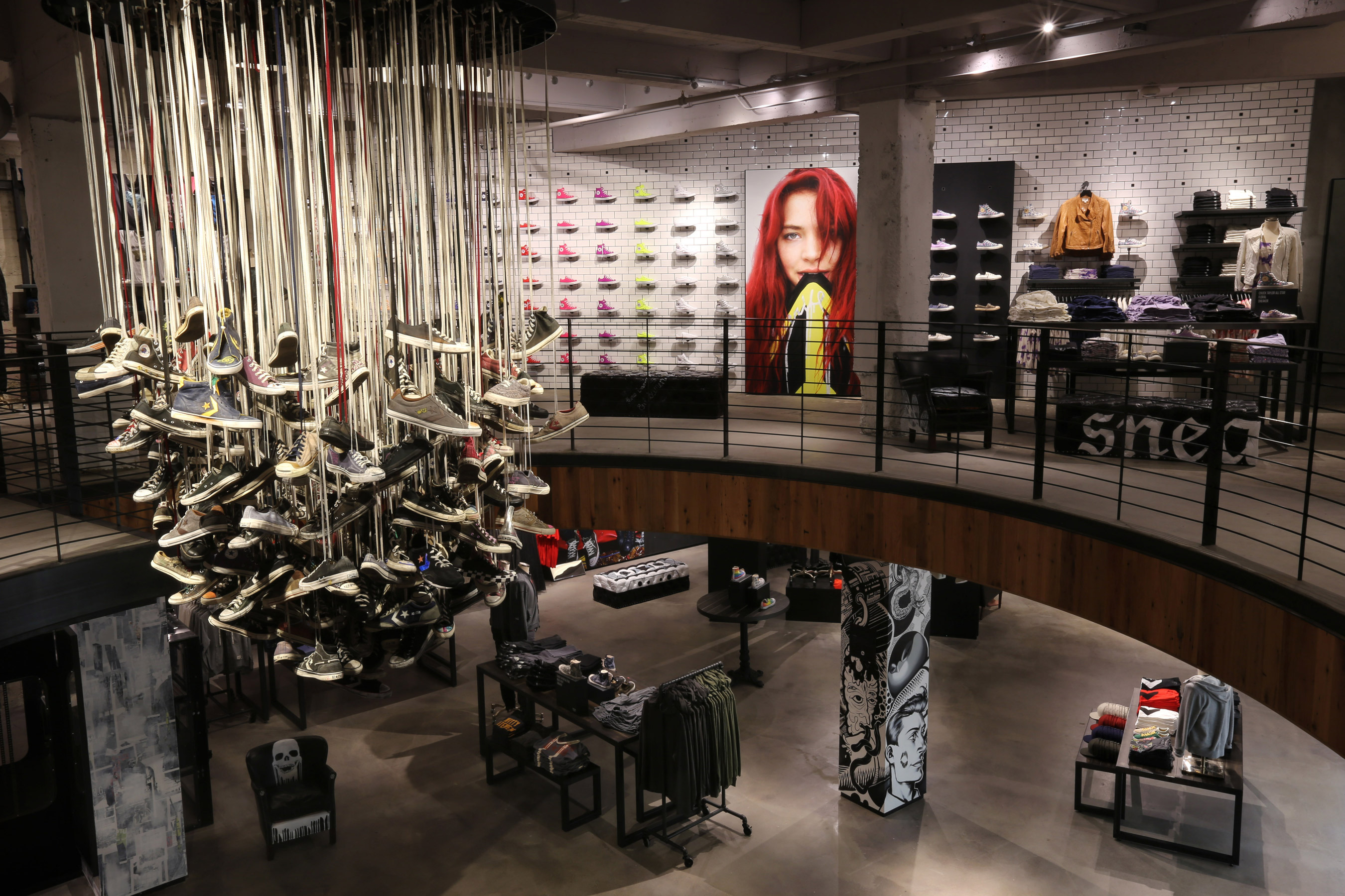 Converse to Unveil Largest Inline Retail Store In San