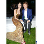 L'Wren Scott and Mick Jagger attend the Serpentine Summer Party 2013 (Photo: Business Wire)