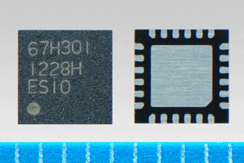 "Toshiba DC motor driver IC, ""TB67H301FTG"" (Photo: Business Wire)"