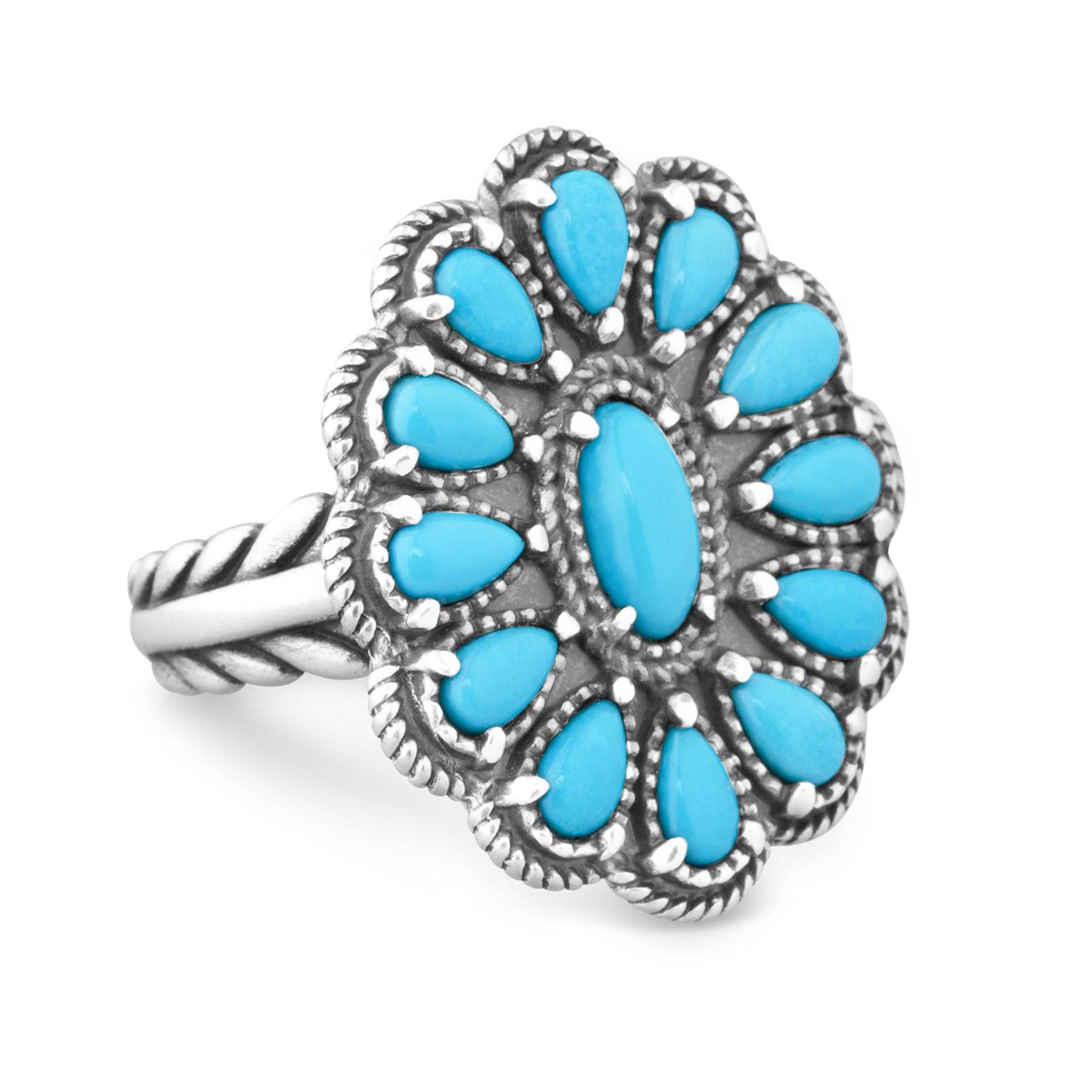 QVC Jewelry: Judith Ripka Sterling williamhill support Blue Topaz and Diamond Ring ...