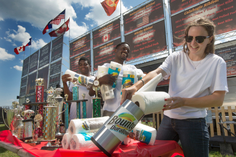 Bounty prepares for the messy ribs and sticky fingers at Toronto Ribfest, taking place June 28 to Ju ...