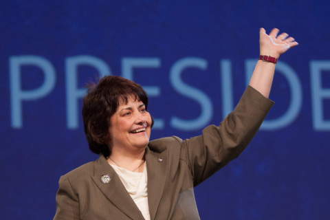 Sue Petrisin elected as Kiwanis International president (Photo: Business Wire)