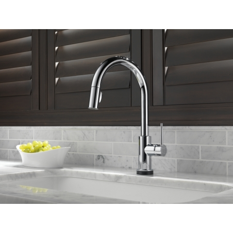 Since 2008, when the Delta(R) brand introduced Touch2O(R) Technology, the first faucet technology of its kind, Delta Faucet has continued to enhance the way consumers interact with their kitchen and bath faucets. (Photo: Business Wire)
