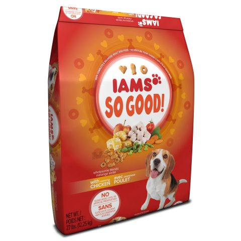 Iams So Good! Dog Food (Photo: Business Wire)