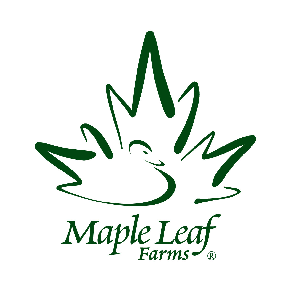 Maple Leaf Farms Logo Maple Leaf Farms Introduces