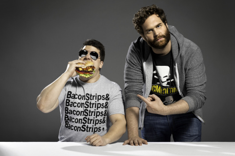 Harley Morenstein and Muscles Glasses, stars of YouTube's