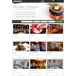 Groupon Reserve, the premiere destination for the finest things to eat, see, do and buy. Debuting on Reserve is Savored.com's reservations engine that lets customers book tables at some of the best restaurants in their city at discounts of up to 40 percent. (Photo: Business Wire)