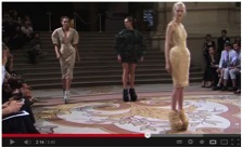 Video: Click here to watch Iris van Herpen and Rem D Koolhaas discuss the design process and see the 3D printed shoes on the catwalk: http://bit.ly/19T7snW (Photo: Stratasys Ltd.)