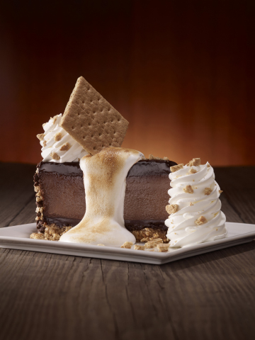 The Cheesecake Factory introduces their new Toasted Marshmallow S'mores Galore(TM) on National Chees ...