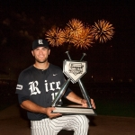 Rice University's Michael Aquino is the 2013 TD Ameritrade College Home Run Derby Champion. Photo courtesy of Green Room Studios.