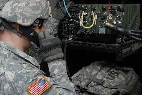 BAE Systems' PHOENIX radios communicated securely and successfully using WNW-AJ across uneven terrain at Fort Dix. (Photo: BAE Systems)