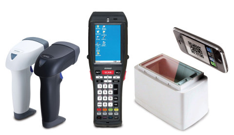 DENSO ADC 1-D and 2-D barcode scanners and terminals (Photo: Business Wire)
