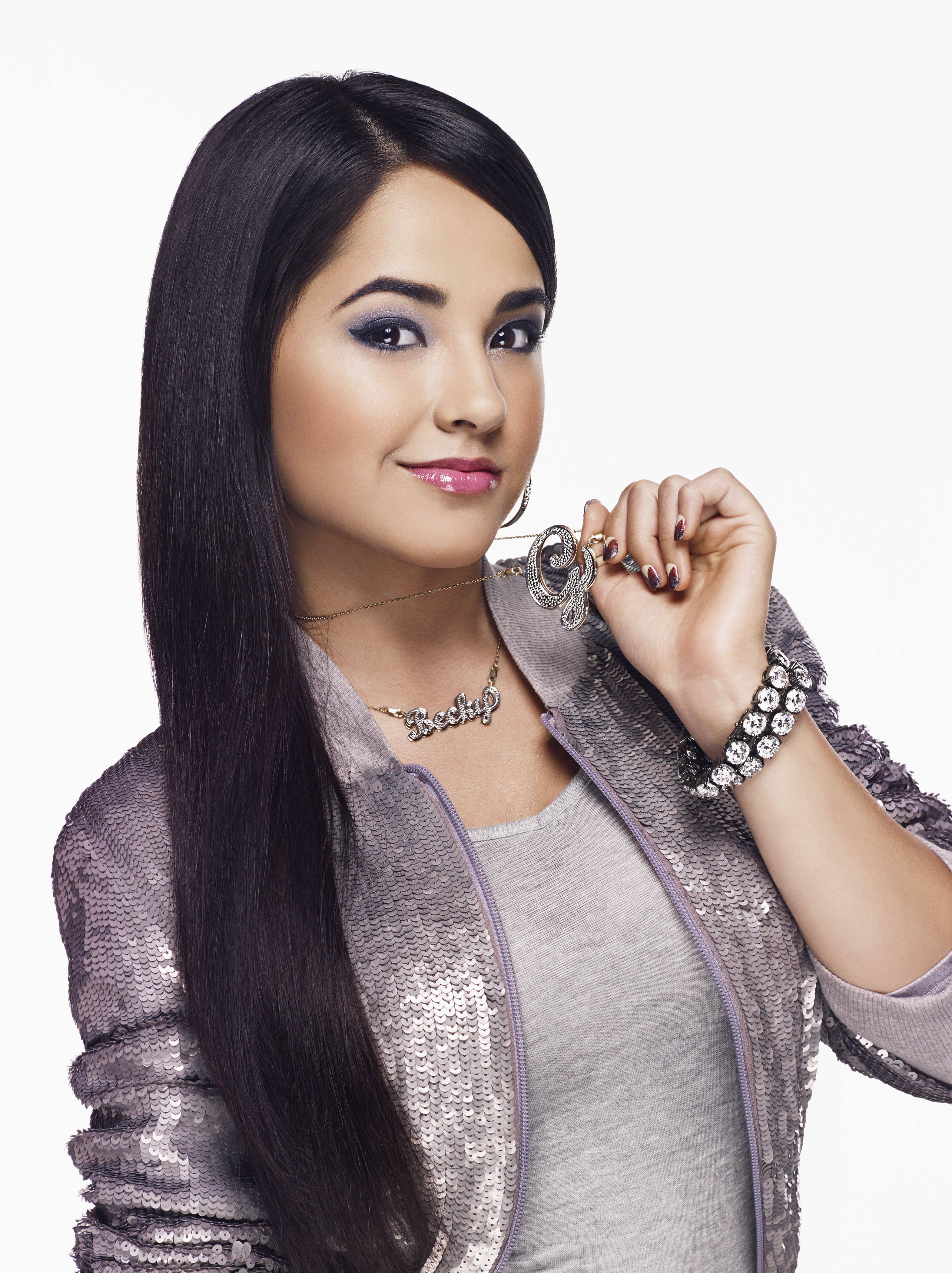 COVERGIRL signs rising triple-threat: 16-year-old singer, songwriter & rapper Becky G. Mexican-American superstar brings beauty, beats and COVERGIRL confidence to every block. (Photo credit: COVERGIRL)