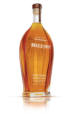 Angel's Envy Bourbon Port Cask Finish (Photo: Business Wire)