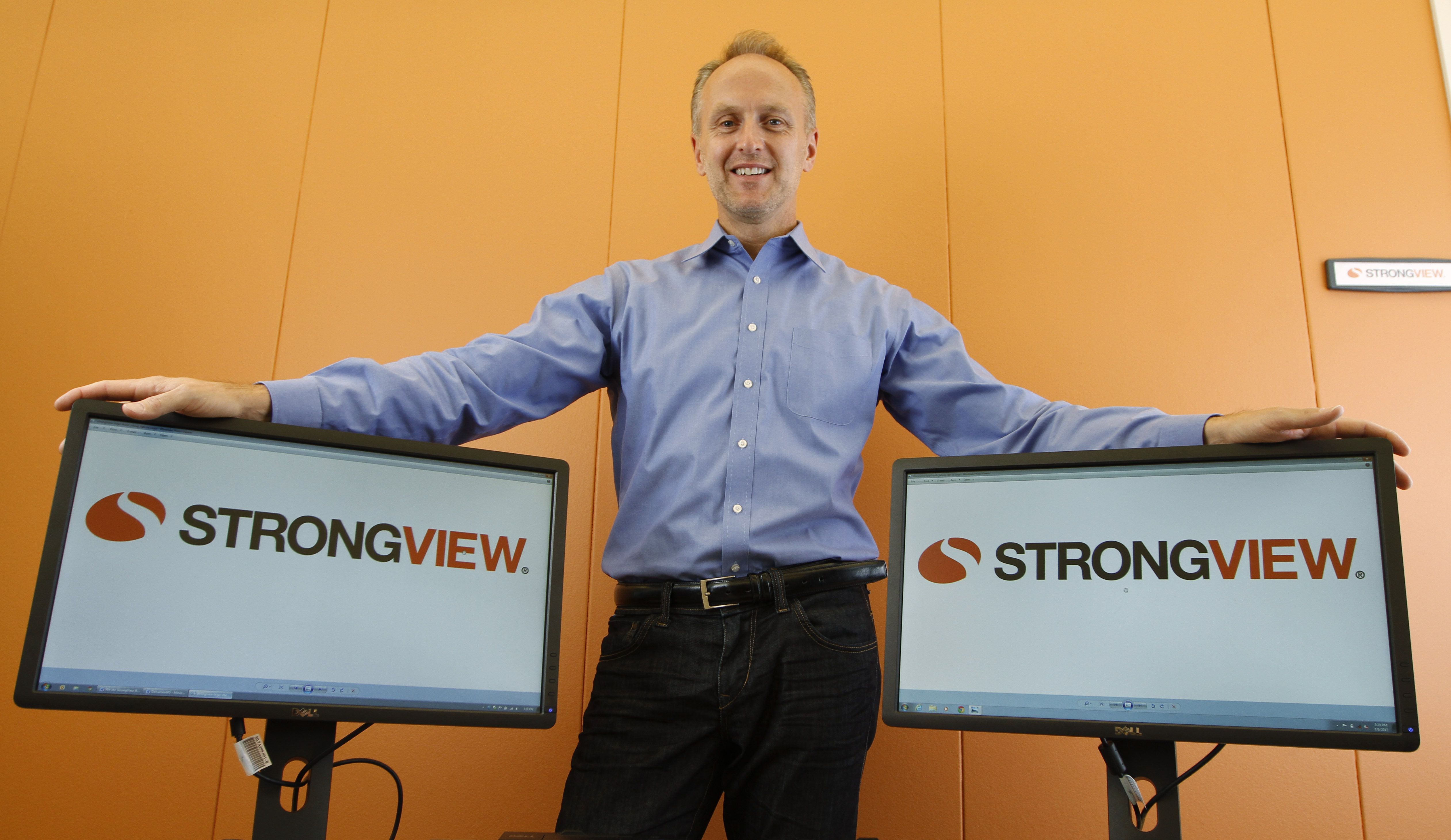"""StrongMail Becomes StrongView! Reflecting the evolving landscape of the digital marketing industry, email and cross-channel marking solutions provider StrongMail announced today that it is rebranding the company and changing its name to StrongView. StrongView CEO, Bill Wagner (pictured here), says the name change """"reflects the transformation the company has made over the past few years, evolving from an enterprise email company to a provider of full cross-channel marketing solutions that give marketers a stronger view of their customers and how to successfully engage them."""" The StrongView cross-channel marketing platform gives consumer marketers the tools to orchestrate powerful digital marketing programs that integrate email, mobile, social, web and display advertising features in large-scale campaigns. (Photo: Business Wire)"""