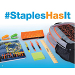For all the latest deals and promotions, back to school shoppers can follow #StaplesHasIt on Twitter and Facebook. (Graphic: Business Wire)