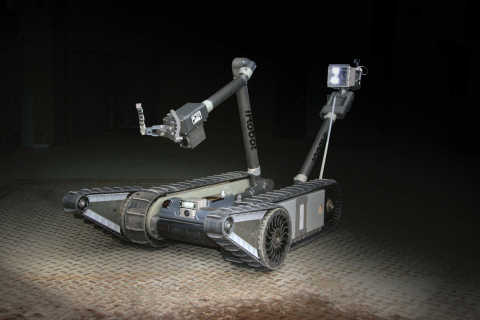 The iRobot PackBot performs bomb disposal and other dangerous missions for troops and first responde ...
