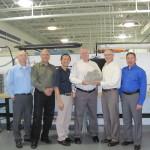 Magnetek Receives Premier Supplier Award from Joy Global. From left: Joy Global's Rick Johnston and Robert Caracci; Magnetek's Hungsun Hui and Joe Ley; Spencer Davis, Joy Global; Gary Bolbat, Magnetek (Photo: Business Wire)