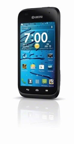 Waterproof Kyocera Hydro Edge splashes into Sprint on Friday, July 19, for just $19.99 (Photo: Sprint)