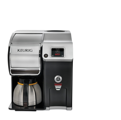 The Keurig(R) BOLT(TM) Carafe Brewing System