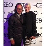 inVNT's Global Managing Partner Scott Cullather with Managing Partner Kristina McCoobery