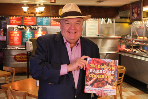 Mr. Dickey's Barbecue Cookbook now available at www.Dickeys.com. (Photo: Business Wire)