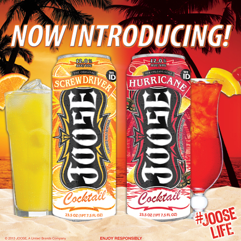 It's Cocktail Time: JOOSE(TM) Has You Covered Night and Day! (Photo: Business Wire)