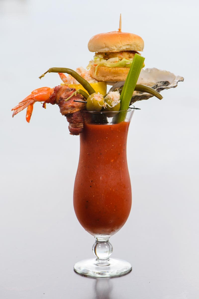 The Ultimate Seafood Bloody Mary Photo: Michael Troutman