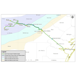 Proposed Route for the NuStar South Texas Crude Oil Pipeline System Project (Graphic: Business Wire)