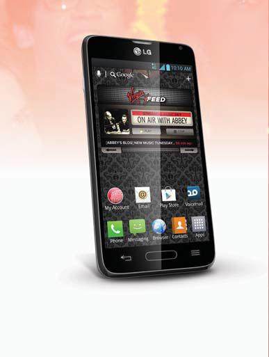 Virgin Mobile USA adds LG Optimus F3 smartphone to its dynamic Beyond Talk device portfolio (Photo: Virgin Mobile)