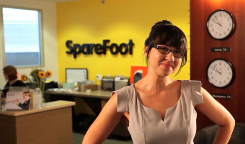 "SpareFoot recruiter Rachel Morse is one of the stars of the Austin startup's new recruiting ""mini-documentary."" (Photo: Business Wire)"