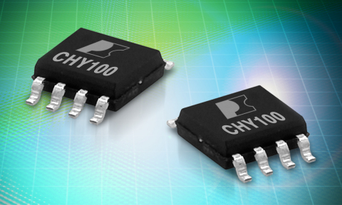 Power Integrations CHY100, the first AC-DC wall-charger interface IC that enables designers of mobil ...