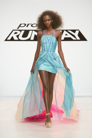 Up, up and away! The winner of last night's challenge in the season premiere of Project Runway stole ...